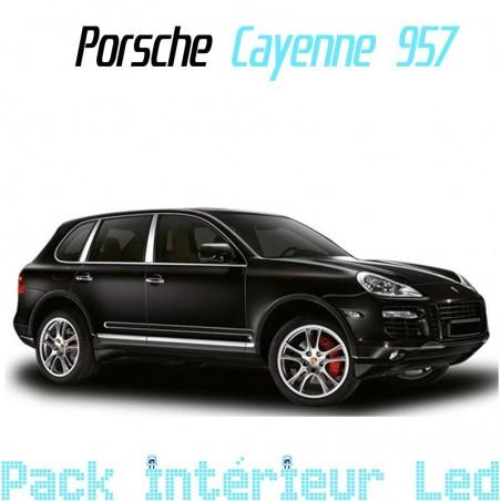 Pack intérieur led pour Porsche Cayenne 957
