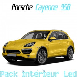 Pack Full Led interieur Porsche Cayenne 958 (2011-)