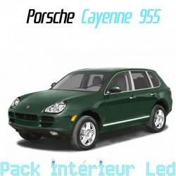 Pack intérieur led pour Porsche Cayenne 955