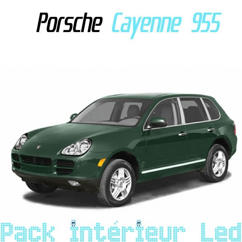 Pack Full Led interieur Porsche Cayenne 955 (2003-2007)