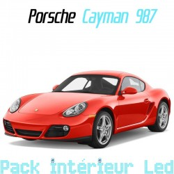 Pack Full Led interieur Porsche Cayman 987