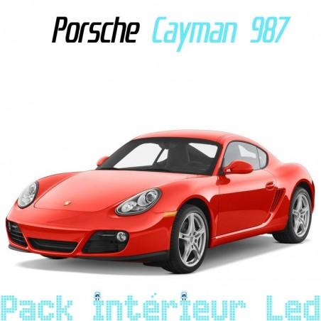 Pack intérieur led pour Porsche Cayman 987