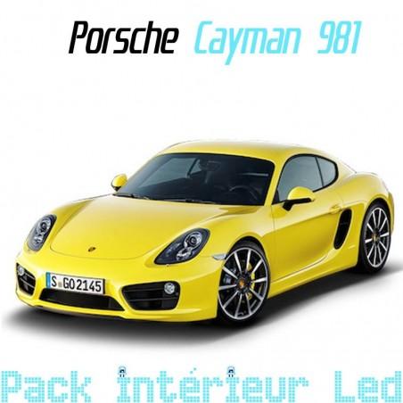 Pack intérieur led pour Porsche Cayman 981