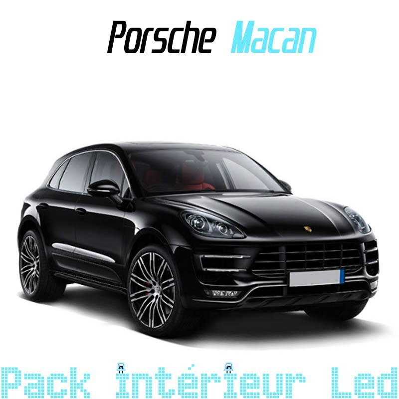 Pack Full Led interieur Porsche Macan