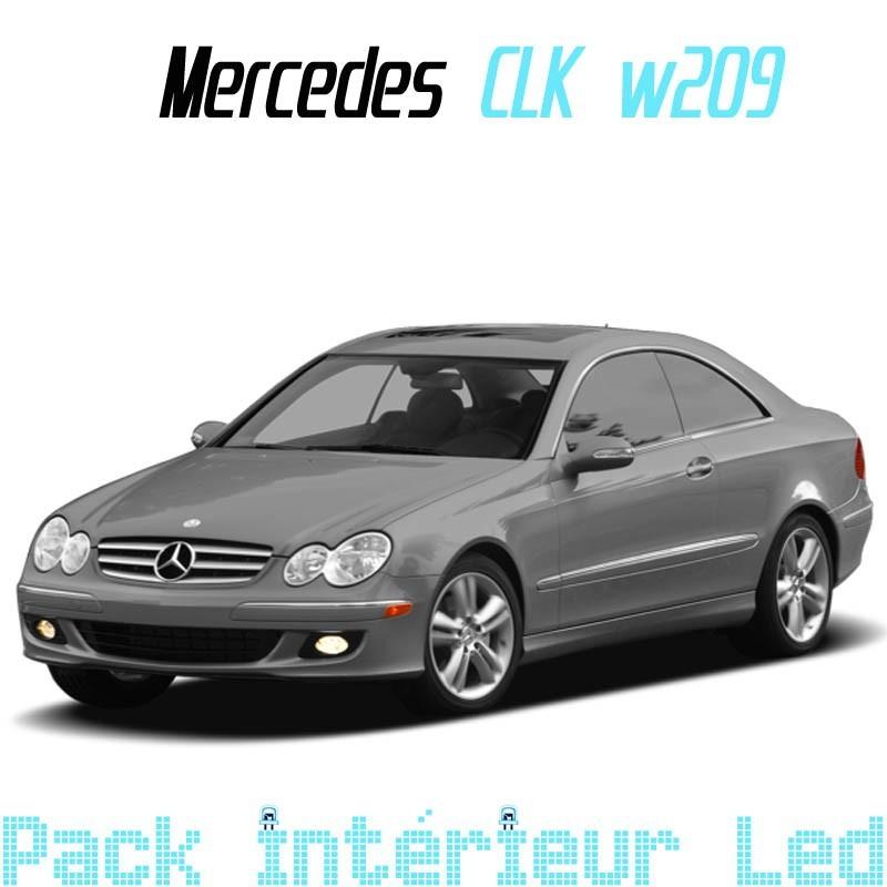Pack led Intérieur Extérieur Mercedes CLK W209