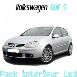 Pack intérieur led pour Volkswagen Golf 5