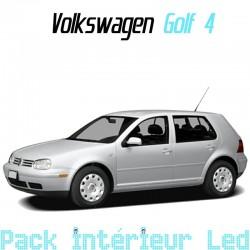 Pack intérieur led pour Volkswagen Golf 4