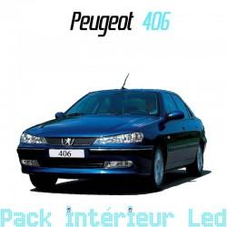 Pack intérieur led pour Peugeot 406