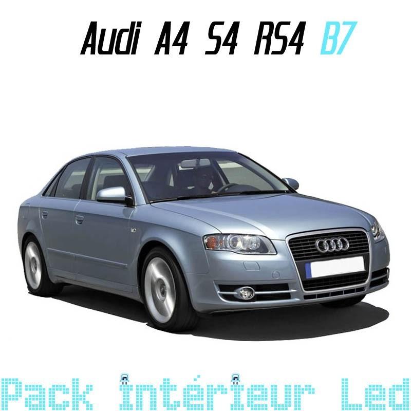 Pack Intérieur Led Audi A4 S4 RS4 B7 (Berline ou Break)