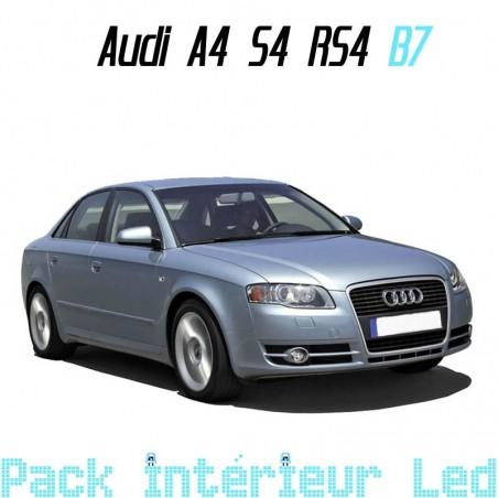 Pack intérieur led pour Audi A4 S4 RS4 B7 (Berline ou Break)