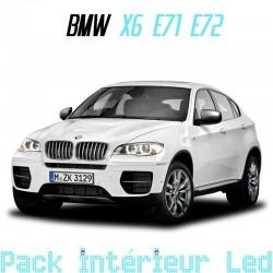 Pack intérieur led pour BMW X6 E71 E72