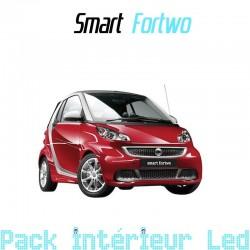 Pack intérieur led pour Smart Fortwo 451 I et II