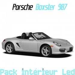 Pack intérieur led pour Porsche Boxster 987