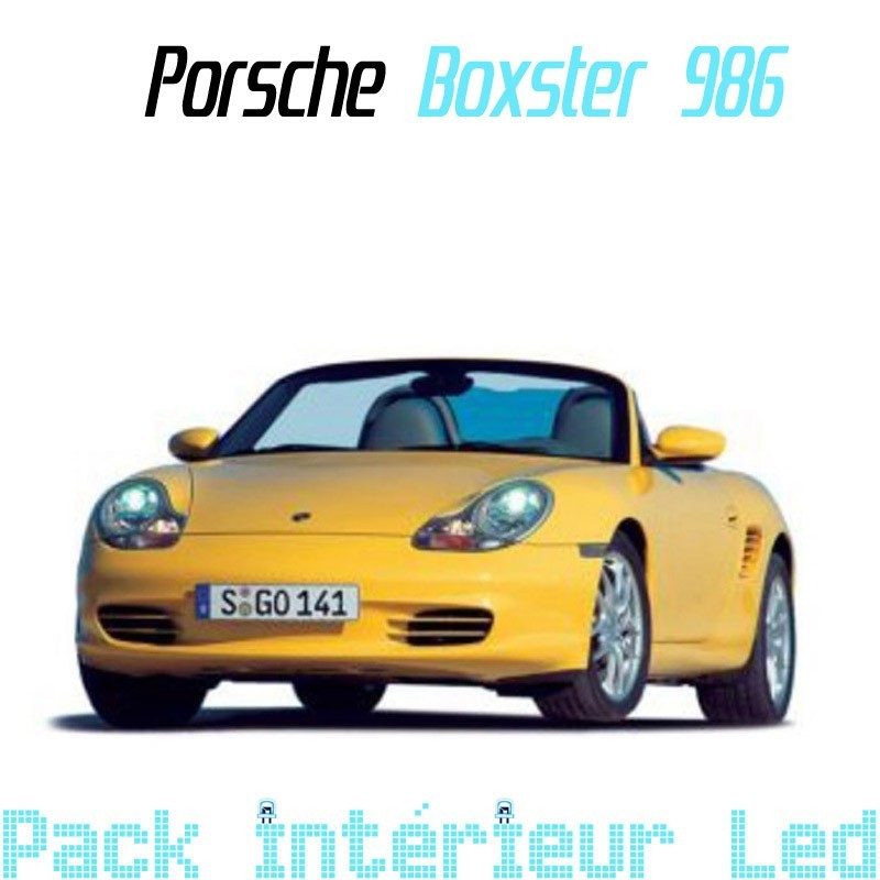 Pack Full Led interieur Porsche Boxster 986
