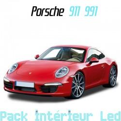 Pack Full Led interieur Porsche 911 991