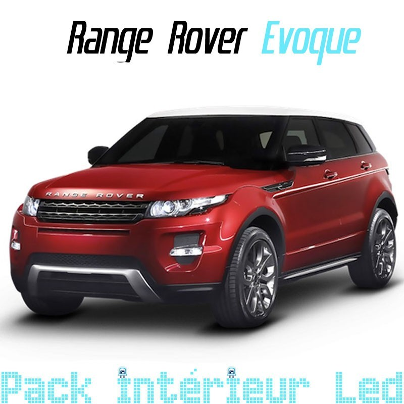 pack led intrieur range rover evoque