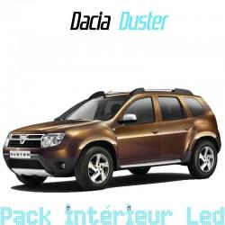 Pack intérieur led pour Dacia Duster