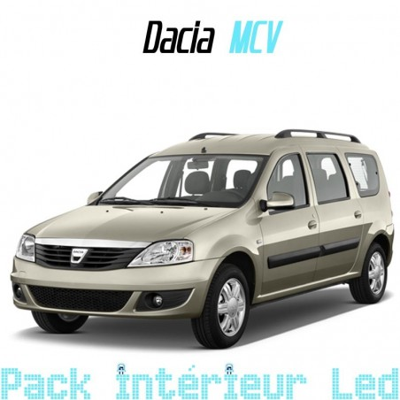 Pack intérieur led pour Dacia Logan MCV
