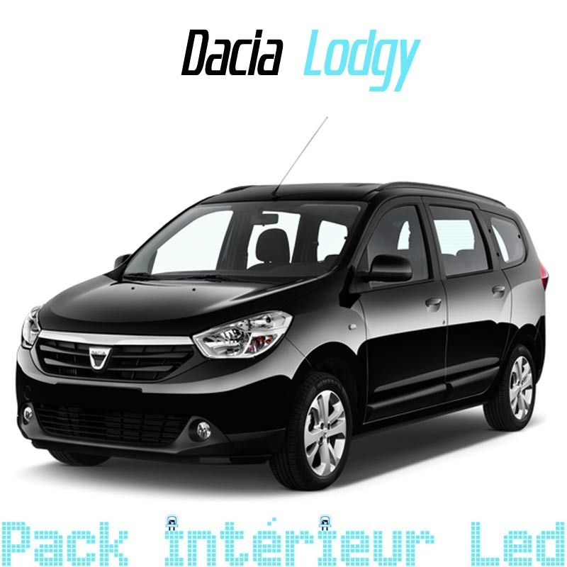 pack int rieur led pour dacia lodgy led auto discount. Black Bedroom Furniture Sets. Home Design Ideas