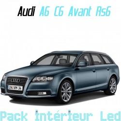 Pack intérieur led pour Audi A6 C6 (Break, RS6)