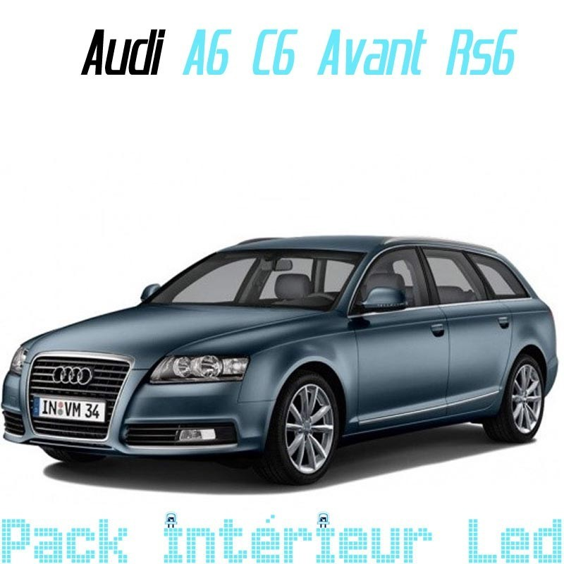 Pack Interieur Led Audi A6 C6 (Break, RS6)