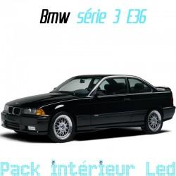 Pack led Intérieur pour BMW série 3 E36 (1992-1998)