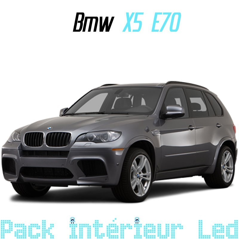Pack Led interieur BMW X5 E70