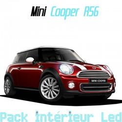 Pack intérieur led pour Mini Cooper R56