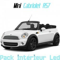 Pack intérieur led pour Mini Cabriolet R57