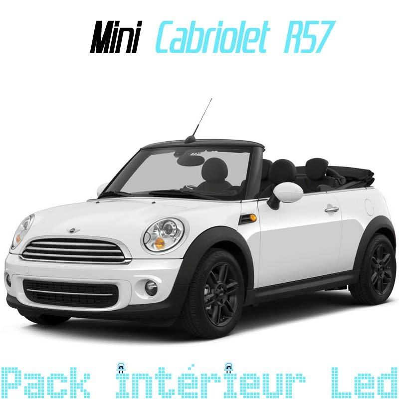 Pack led Intérieur Exterieur Mini Cabriolet R55