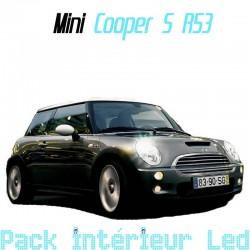 Pack intérieur led pour Mini Cooper S R53