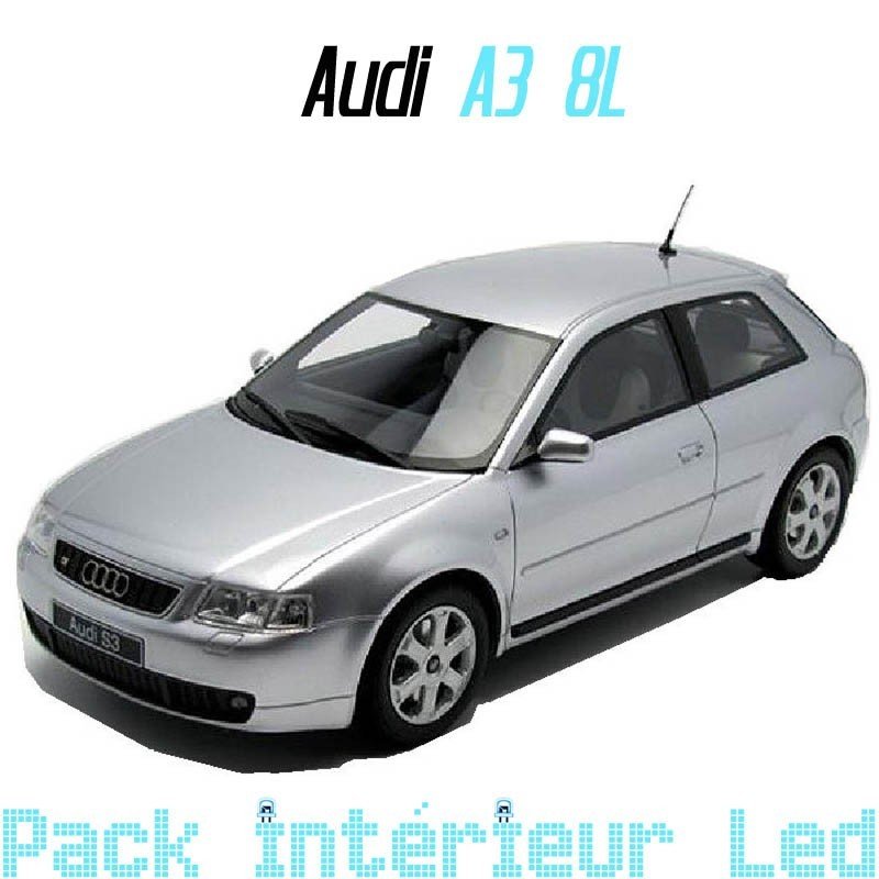 pack int rieur led pour audi a3 8l led auto discount. Black Bedroom Furniture Sets. Home Design Ideas