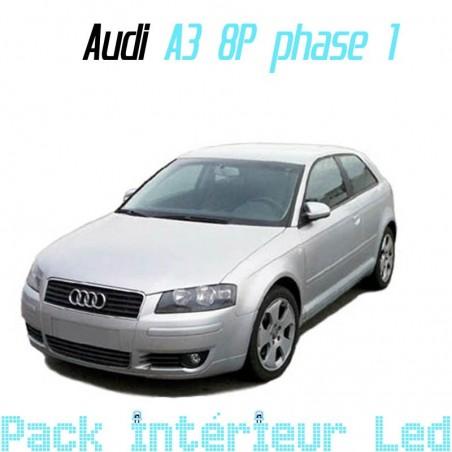 Pack intérieur led pour Audi A3 S3 RS3 8P ph1