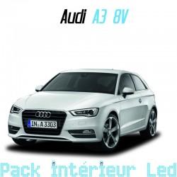 Pack Full Led interieur Audi A3 S3 8V