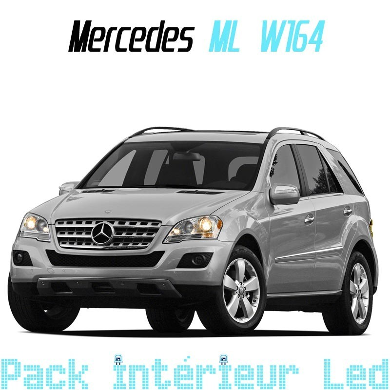 Pack Led Interieur Mercedes ML W164