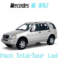 Pack Led Interieur Mercedes ML W163