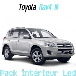 Pack intérieur led pour Toyota Rav 4 III