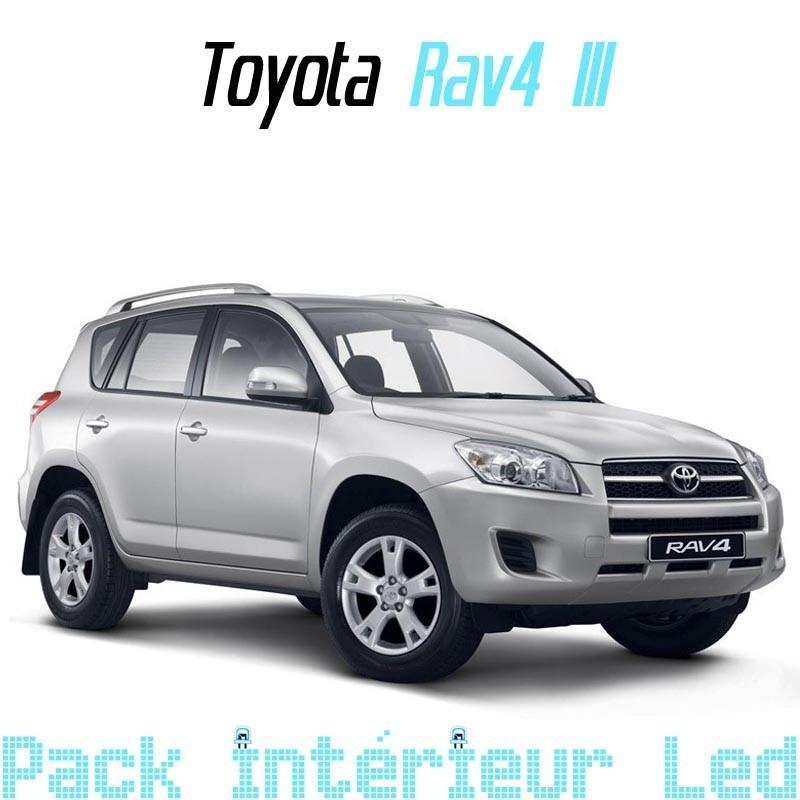 Pack Full led Intérieur Extérieur Toyota Rav 4 III