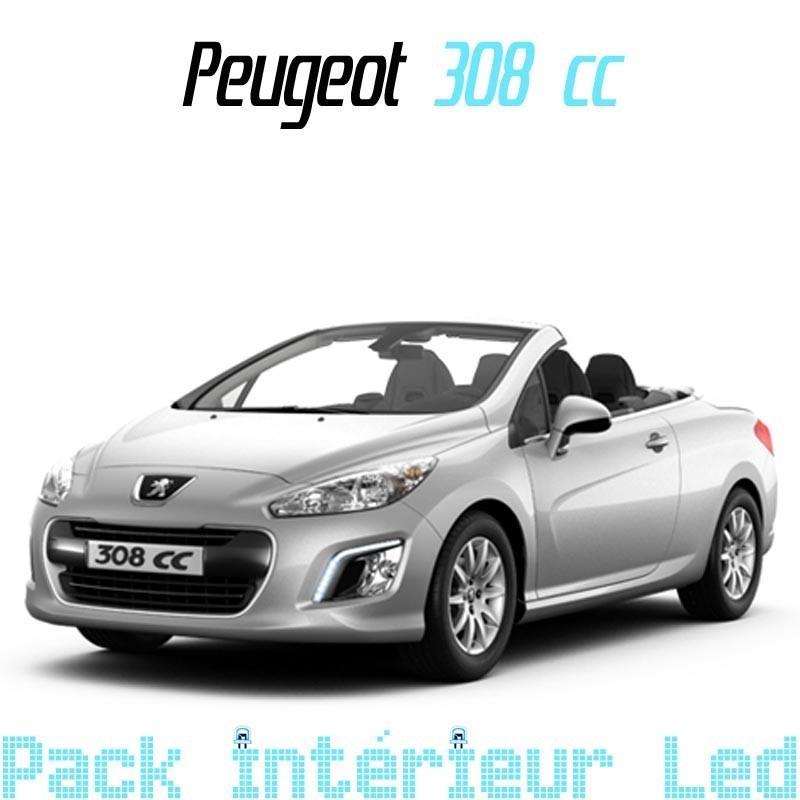 pack int rieur led pour peugeot 308 cc led auto discount. Black Bedroom Furniture Sets. Home Design Ideas