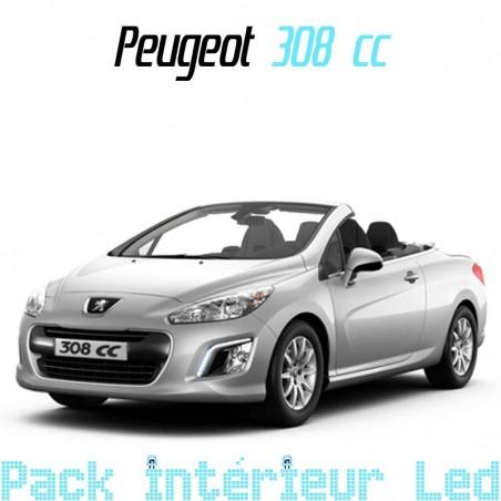 Pack intérieur led pour Peugeot 308 cc
