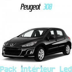 Pack intérieur led pour Peugeot 308