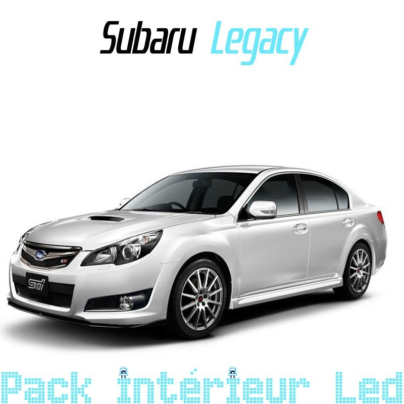Pack Full led Intérieu Subaru Legacy