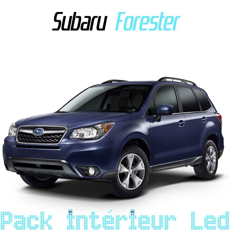 pack int rieur led pour subaru forester 3 led auto discount. Black Bedroom Furniture Sets. Home Design Ideas