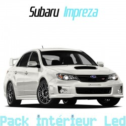 Pack intérieur led pour Subaru Impreza