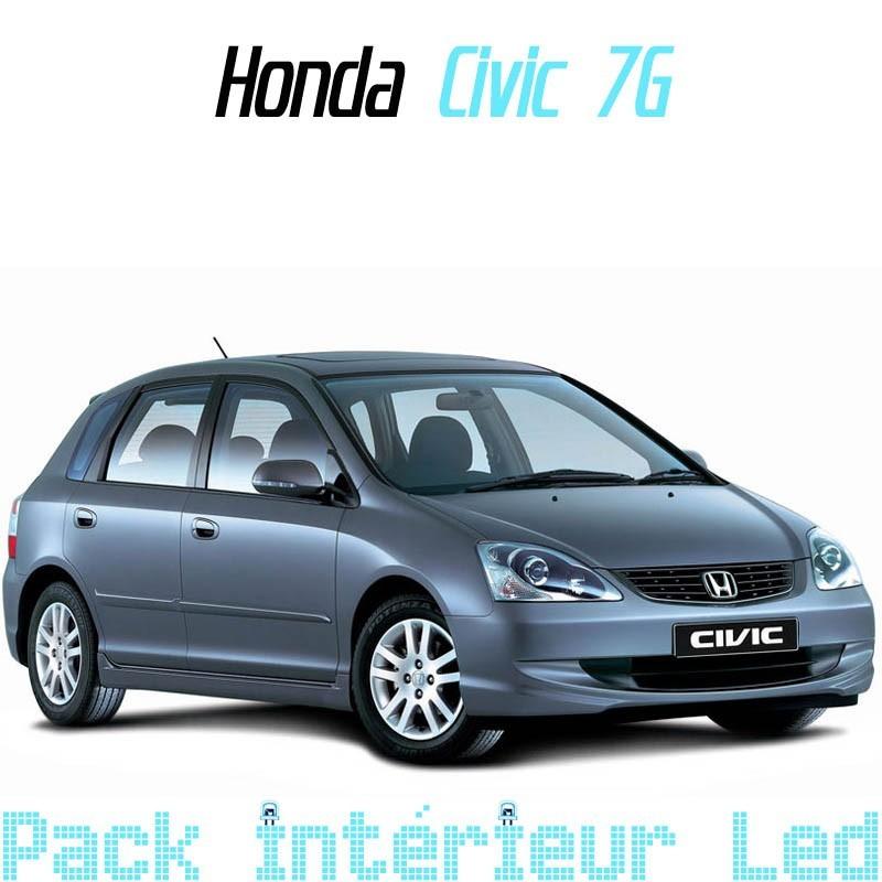 Pack Intérieur extérieur led Honda Civic 2001-2006