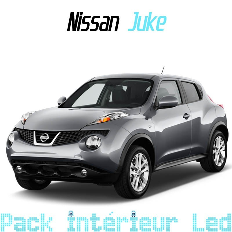 Pack int rieur led pour nissan juke led auto discount for Interieur nissan juke