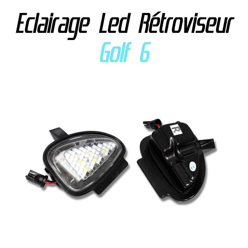 Pack éclairage rétroviseur LED pour Volkswagen Golf 6