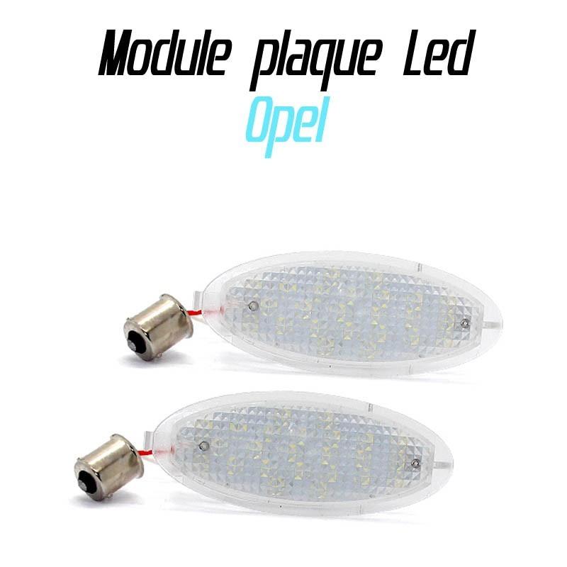 Pack Module de plaque LED pour Opel