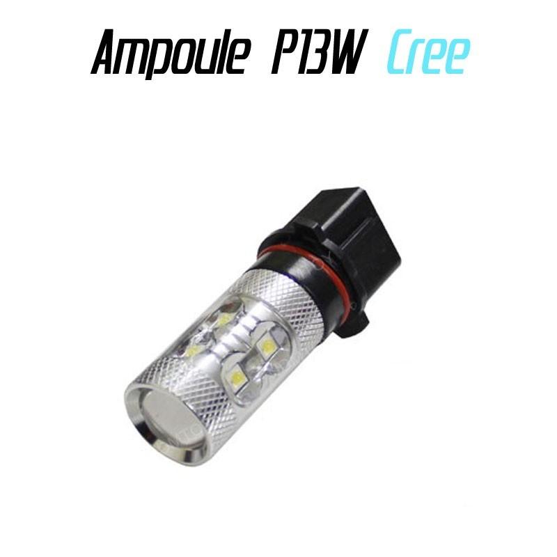 Ampoule Led P13W - 50W (CREE Q5 XP-E) - Blanc Xenon