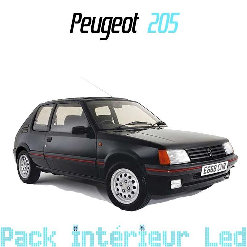 Pack intérieur extérieur led Peugeot 205
